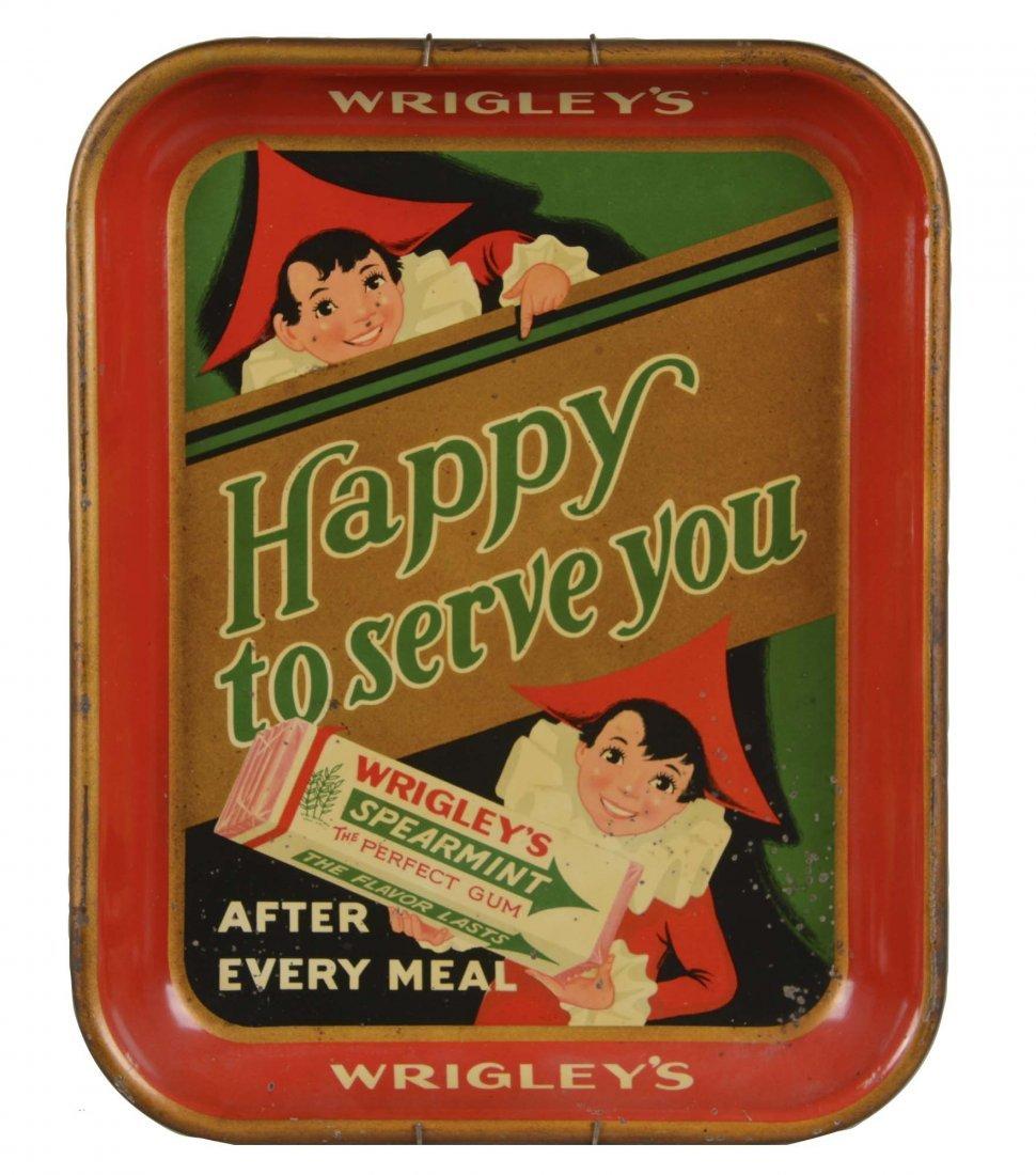 Wrigley's Gum Tin Advertising Tray