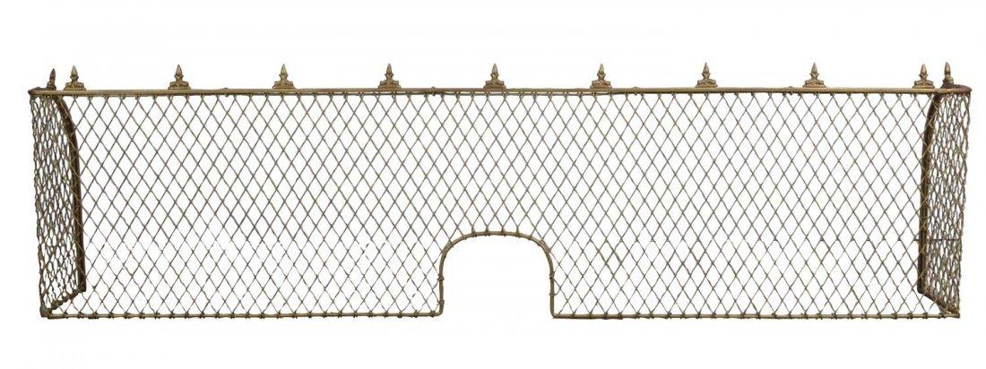 Cast Iron Cashier Cage