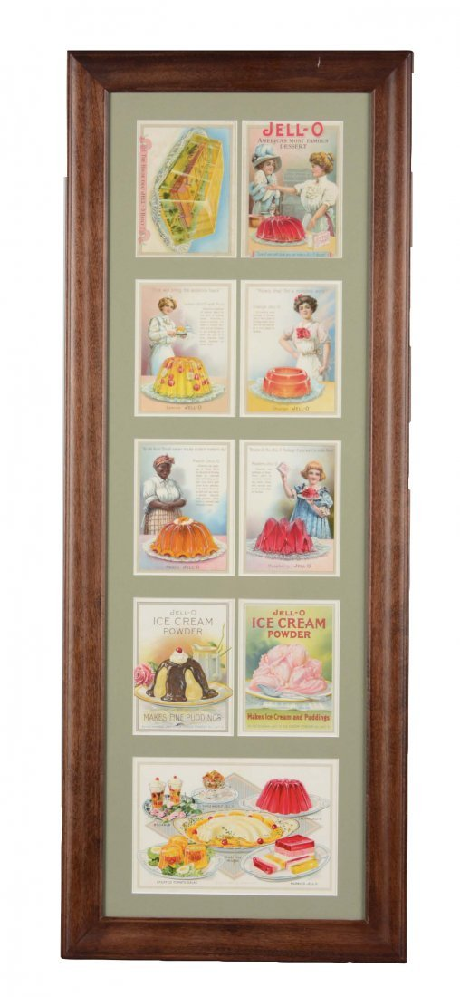 Jell-O Advertisement and Recipe Cards