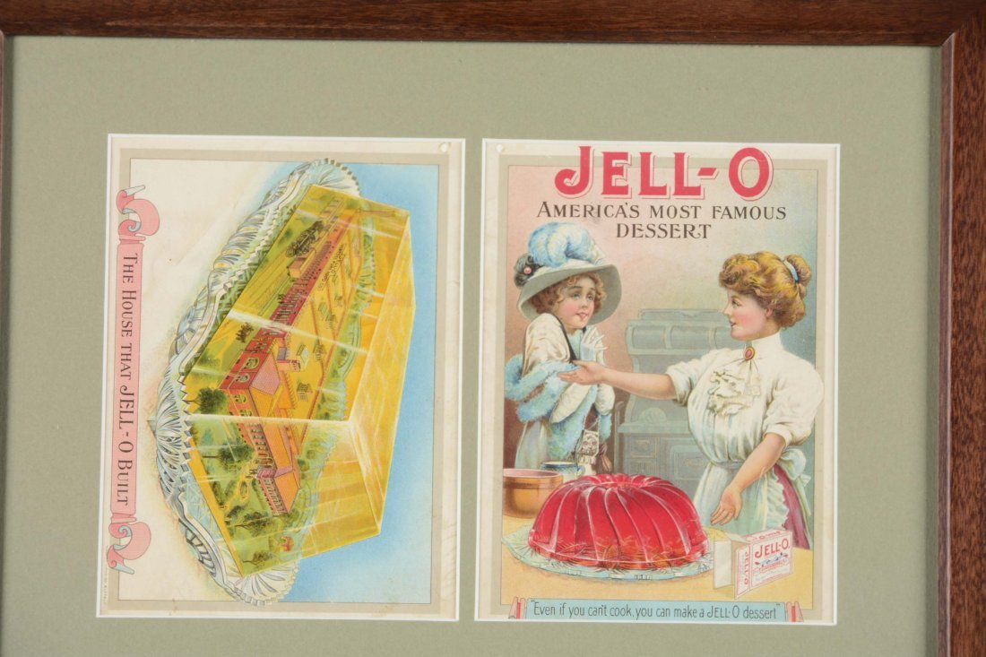 Jell-O Advertisement and Recipe Cards - 2