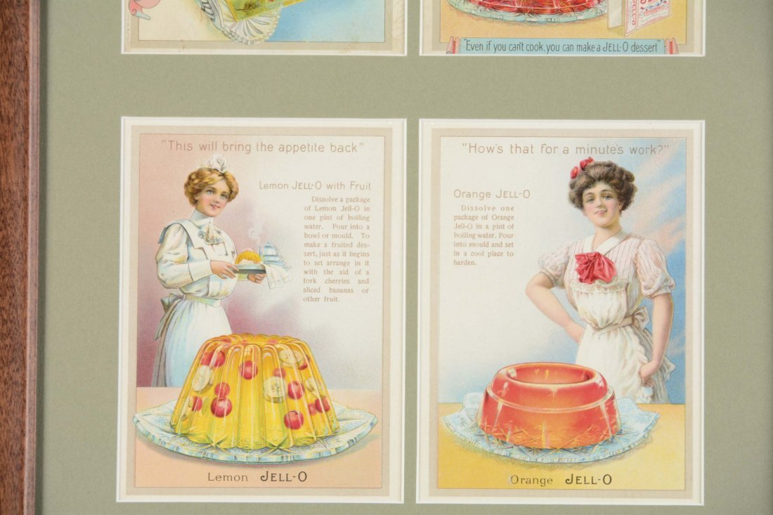 Jell-O Advertisement and Recipe Cards - 3