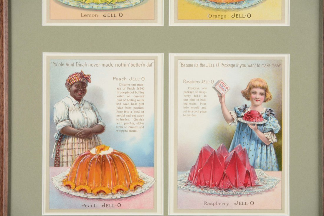 Jell-O Advertisement and Recipe Cards - 4