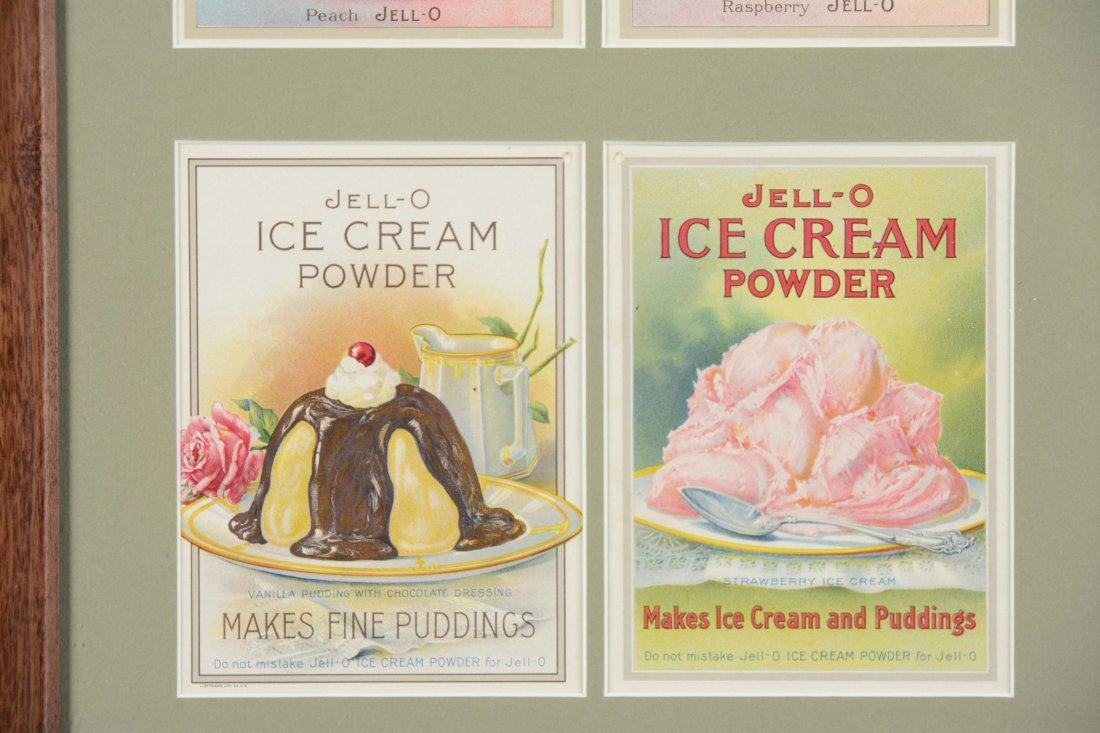 Jell-O Advertisement and Recipe Cards - 5