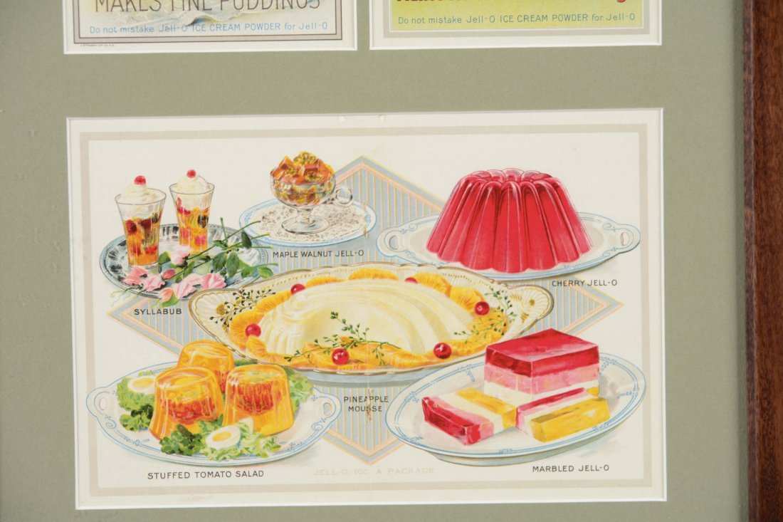 Jell-O Advertisement and Recipe Cards - 6