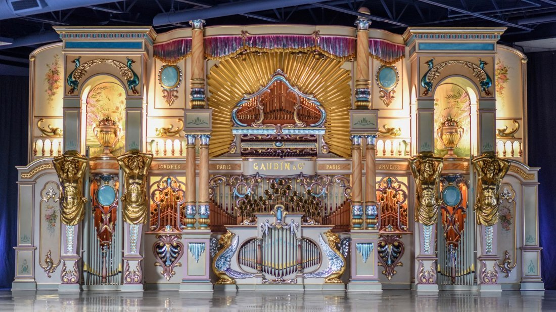 Gaudin 125 Key Dance Organ
