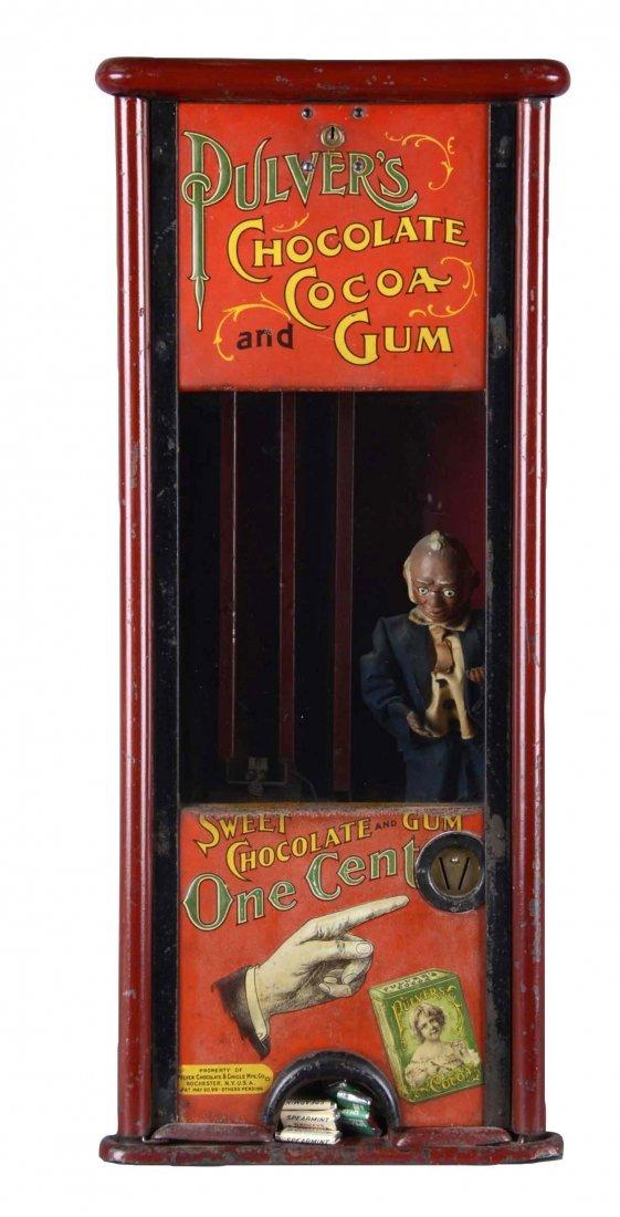 1¢ Pulver Chocolate Cocoa & Gum Vending Machine