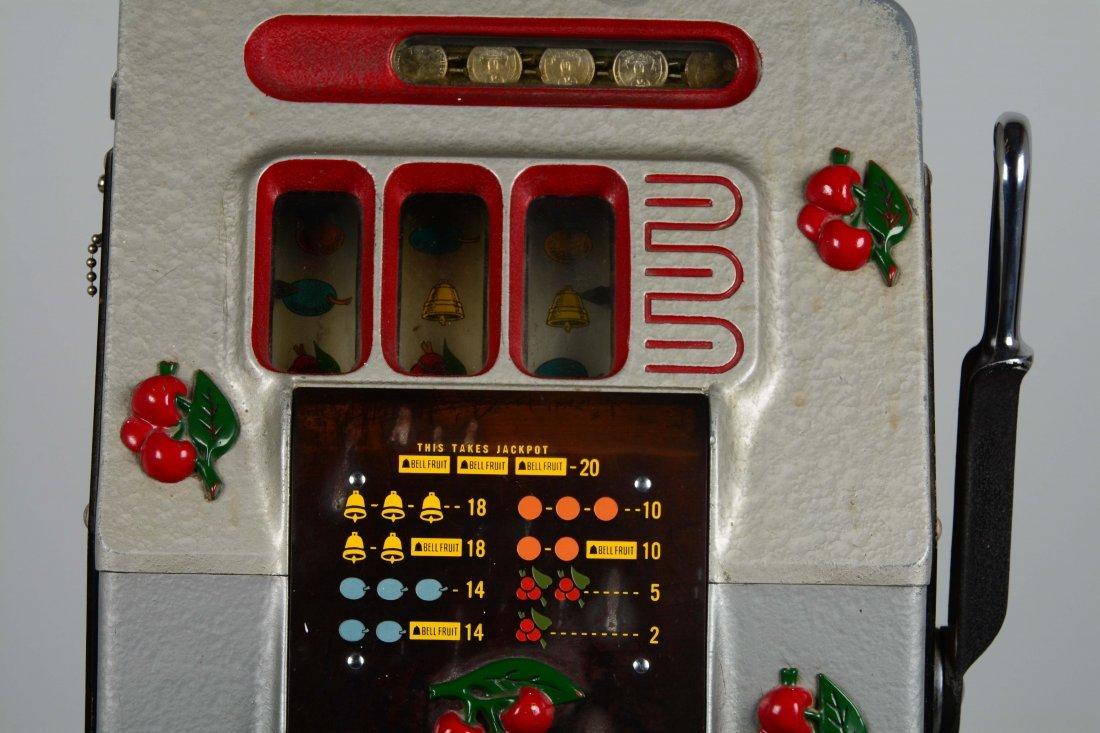 **25¢ Mills Black Cherry Half-Top Slot Machine - 2