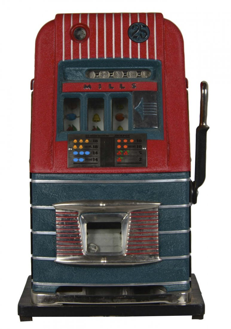 **25¢ Mills High Top Slot Machine