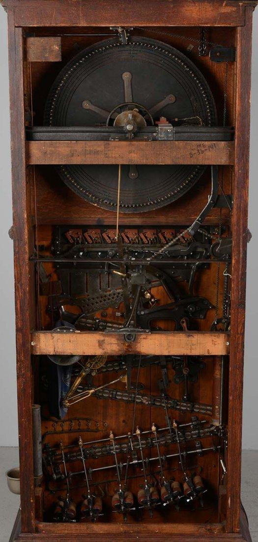 **5¢ Berger Oom-Paul Upright Floor Wheel Slot Machine - 5