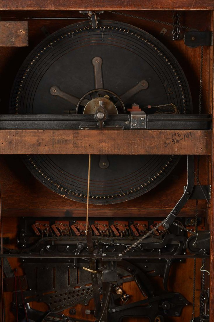**5¢ Berger Oom-Paul Upright Floor Wheel Slot Machine - 6