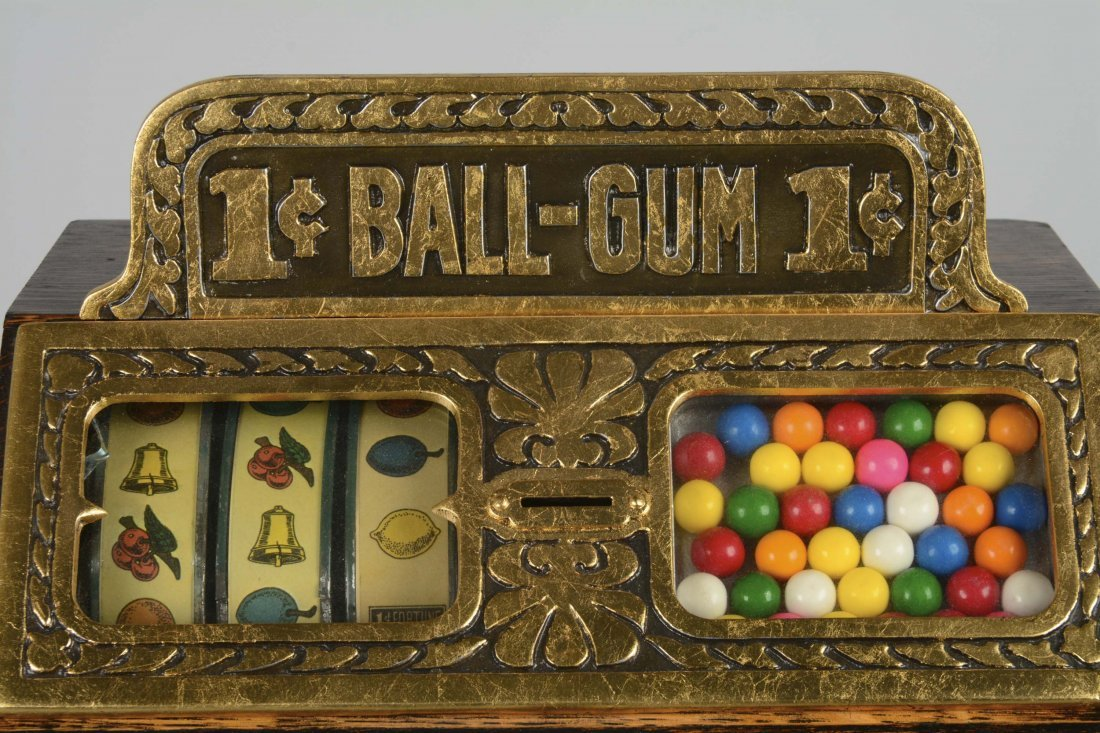 **1¢ Caille Fortune Ball Gum Vender - 2