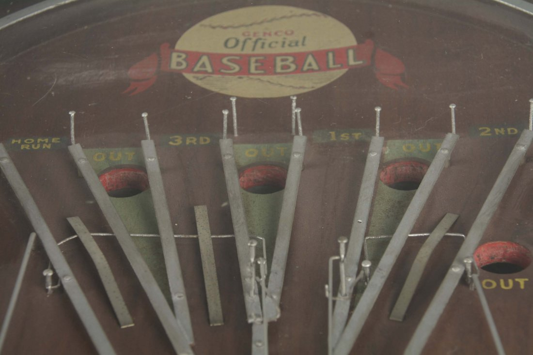 1¢ Genco Official Baseball Pinball Game - 3