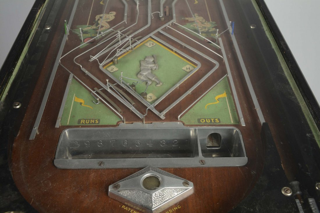 1¢ Genco Official Baseball Pinball Game - 5