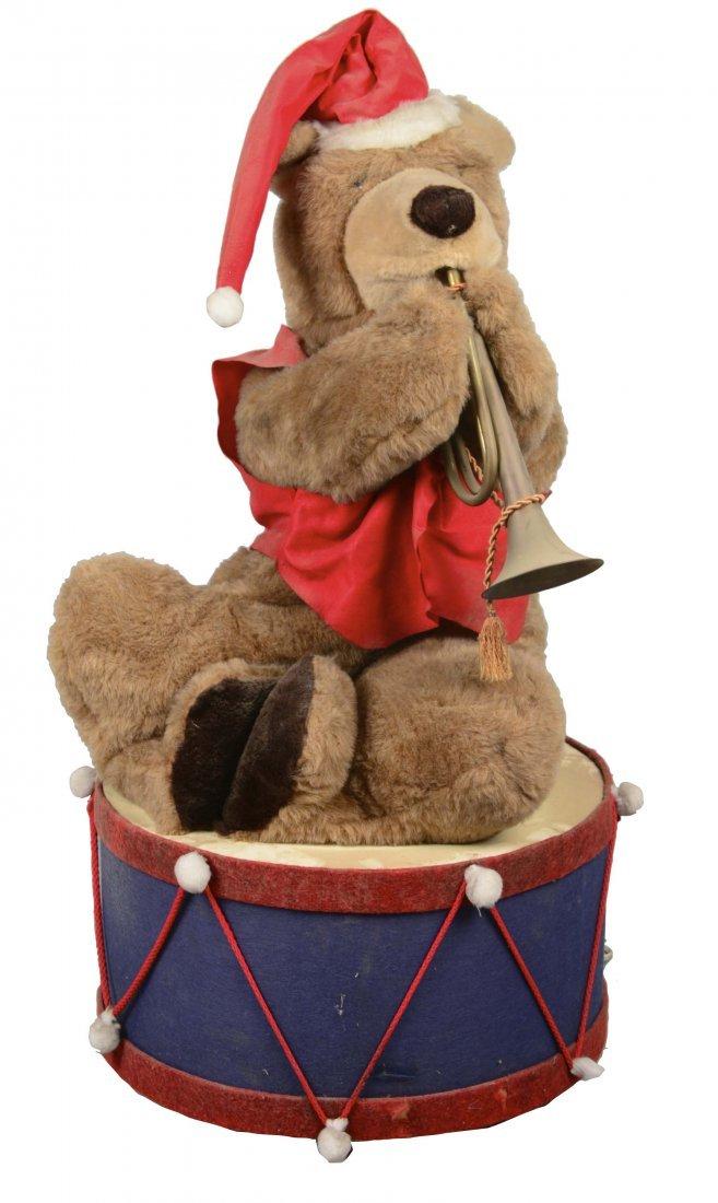 Animatronic Christmas Brown Bear