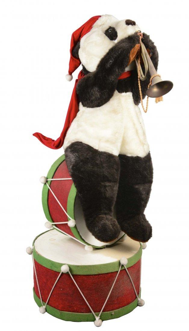 Animatronic Christmas Panda Bear