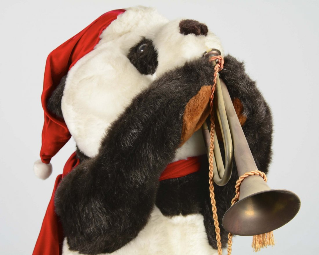 Animatronic Christmas Panda Bear - 2