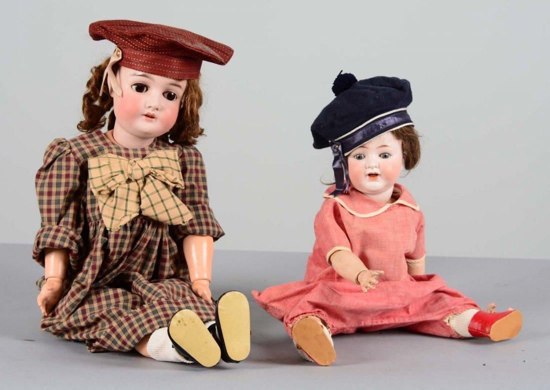 Lot Of 2: German Porcelain and Composite Dolls