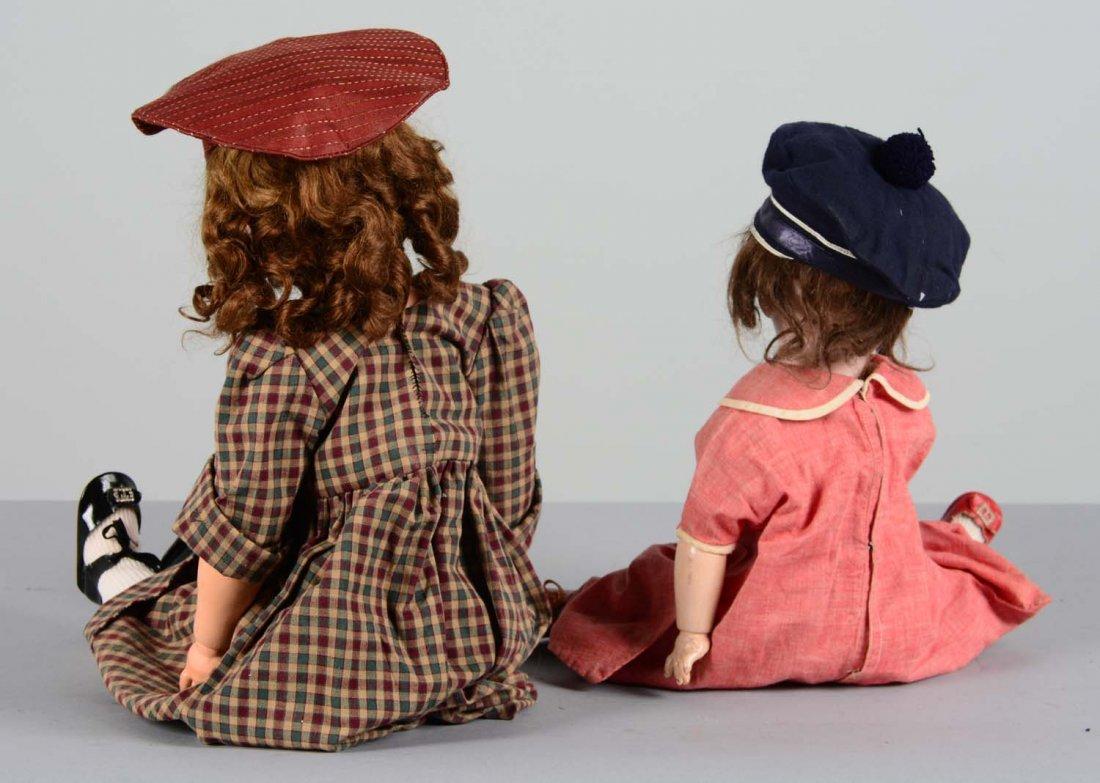 Lot Of 2: German Porcelain and Composite Dolls - 4