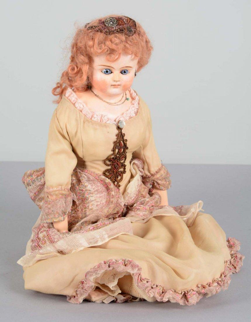 German Paper Mache Doll
