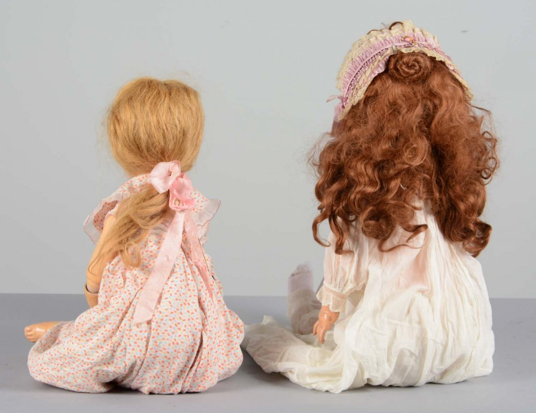 Lot Of 2: German Bisque and Composite Dolls - 4
