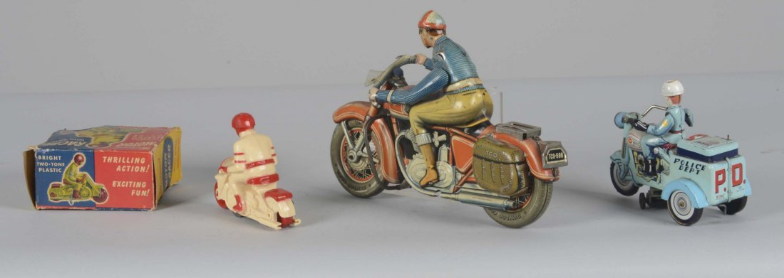 Lot Of 3: Interesting Motorcycle Toys - 2