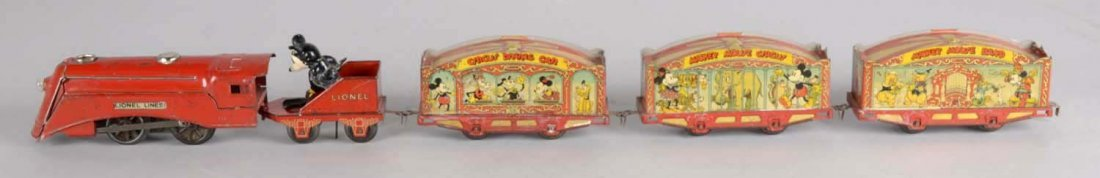 Electric Lionel Mickey Mouse Circus Train - 2