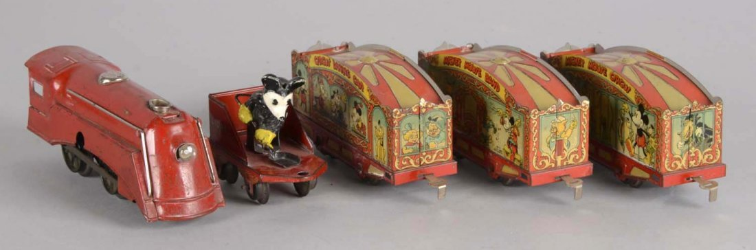 Electric Lionel Mickey Mouse Circus Train - 3