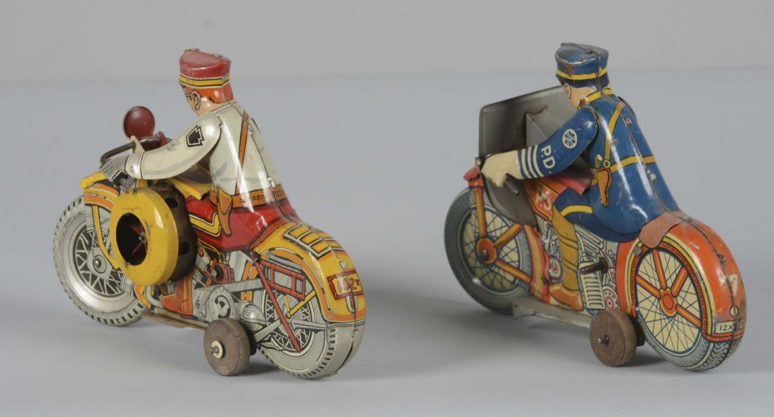 Lot Of 2: Marx Motorcycle Toys - 2