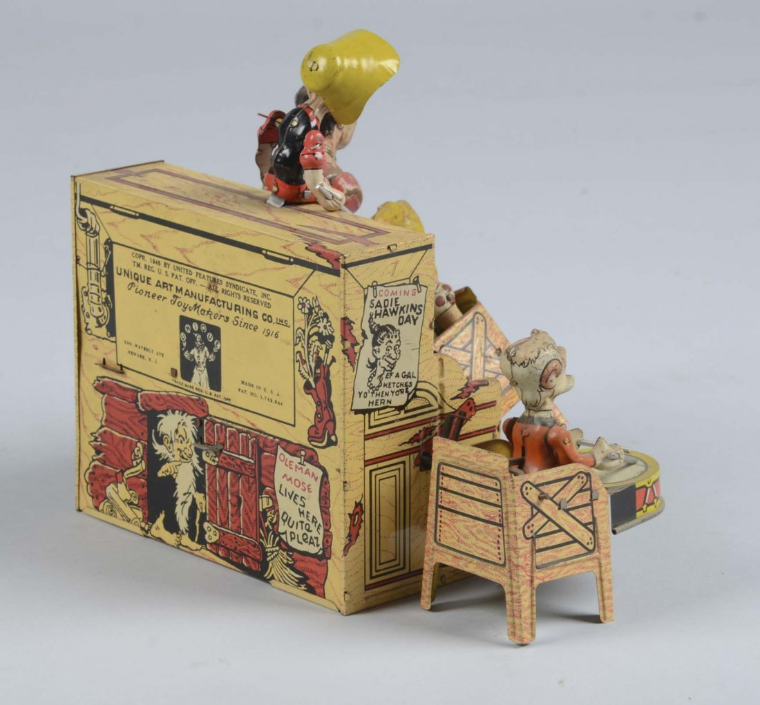 Unique Art Lil' Abner Band Tin Litho Toy - 2