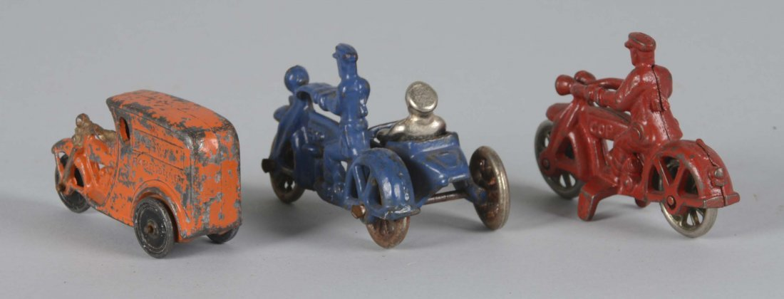 Lot Of 3: Cast Iron Toys - 2