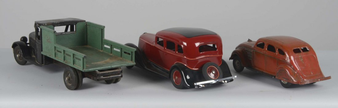 Lot Of 3: Vintage Pressed Steel Vehicles - 2