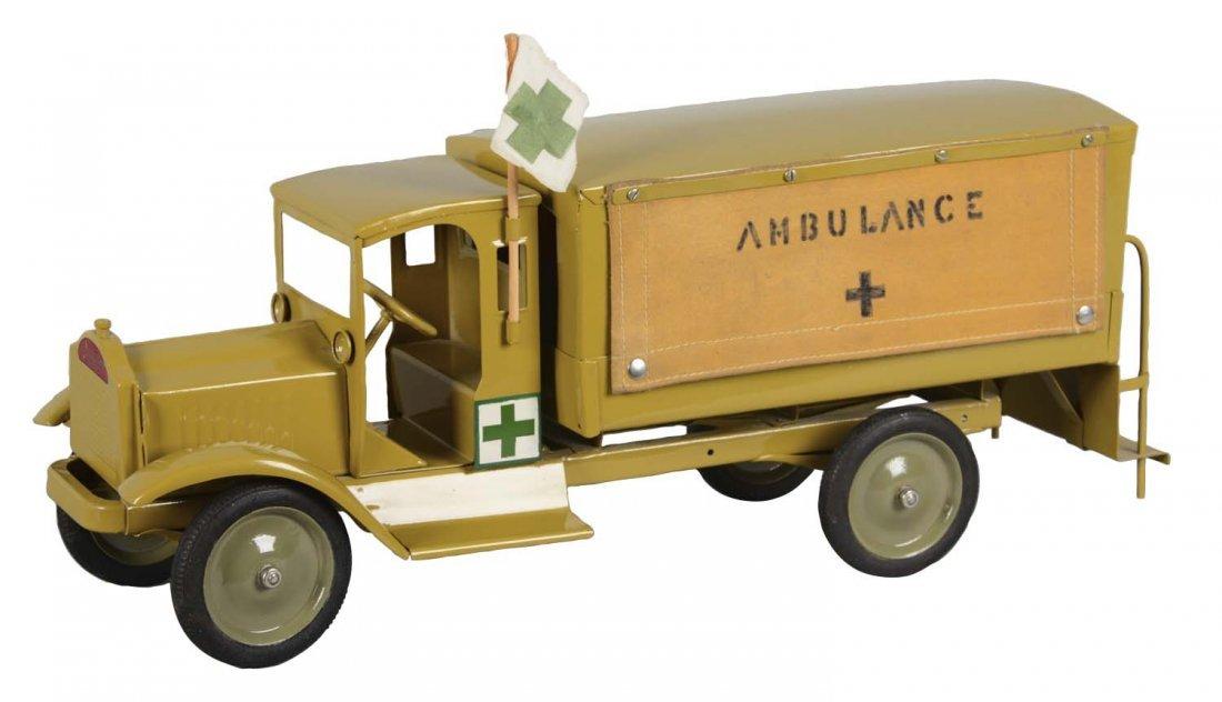 Sturditoy Army Ambulance Truck