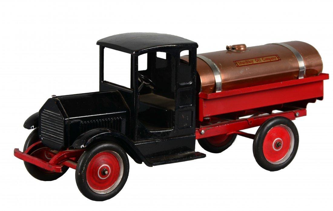 Sturditoy Toy Oil Company Tanker Truck