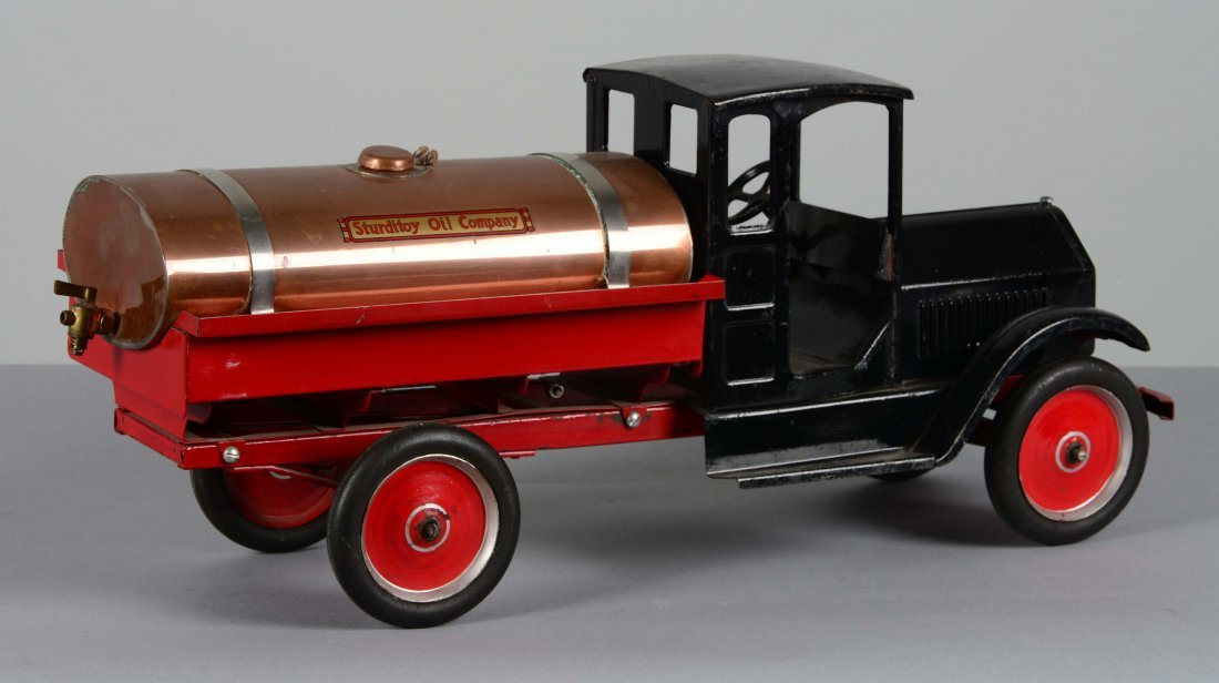 Sturditoy Toy Oil Company Tanker Truck - 2