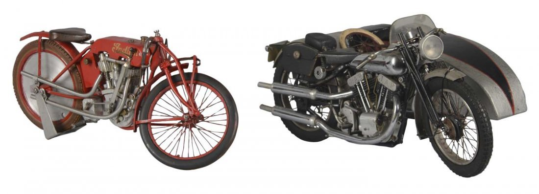 Lot Of 2: One of a Kind Motorcycles
