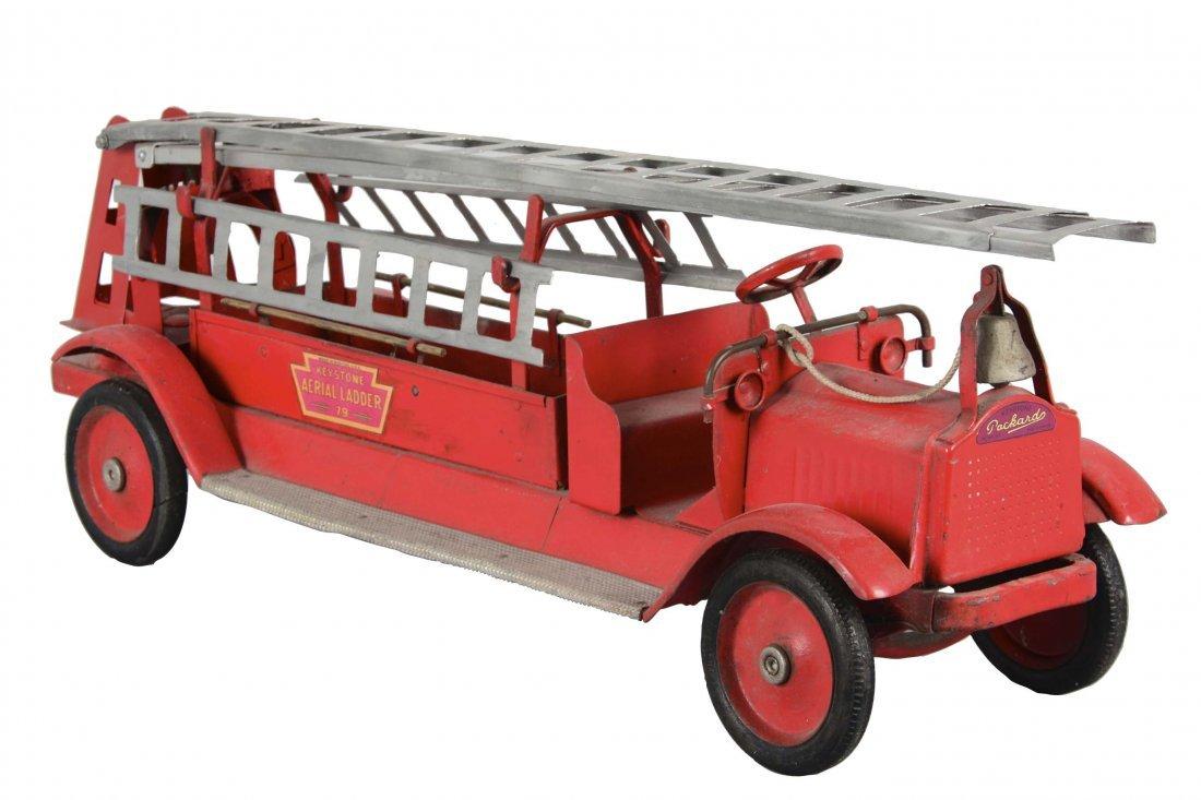 Keystone Pressed Steel Aerial Ladder Fire Truck