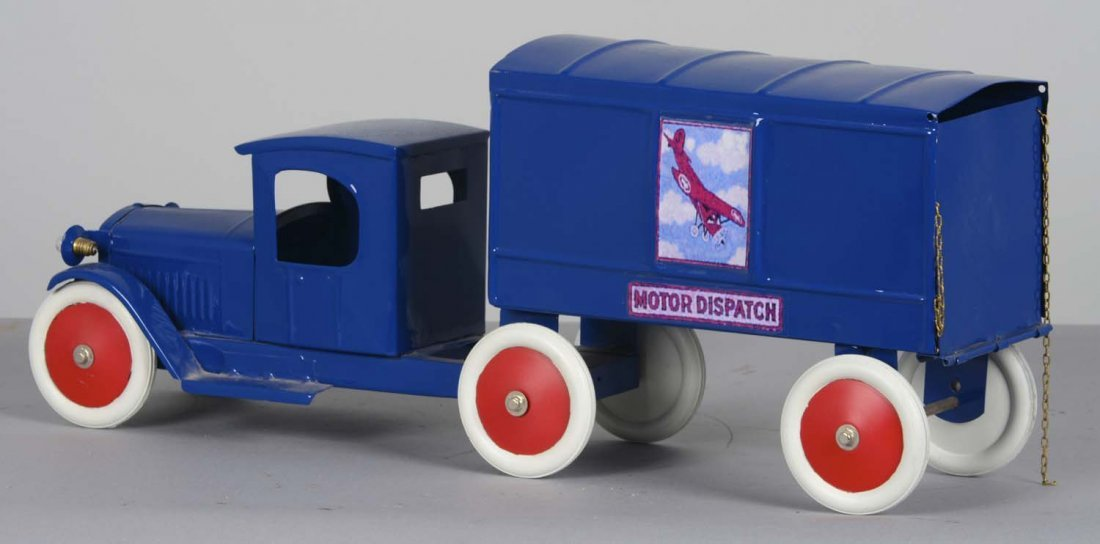 Structo Pressed Steel Motor Dispatch Truck - 2