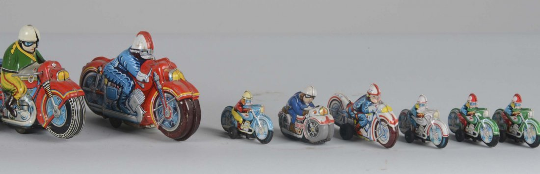 Lot Of 15: Japanese Motorcycle Toys - 3