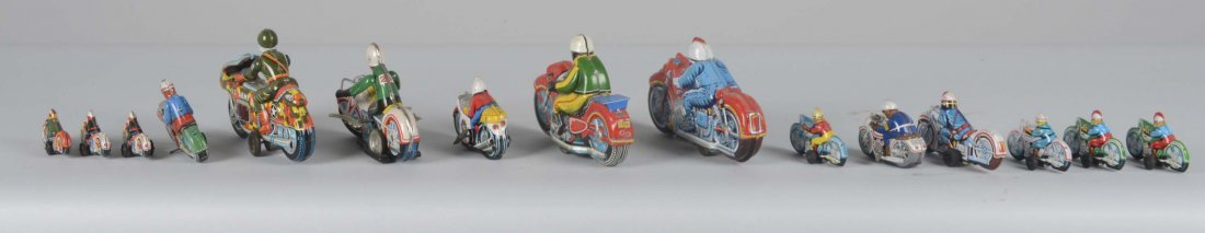 Lot Of 15: Japanese Motorcycle Toys - 4