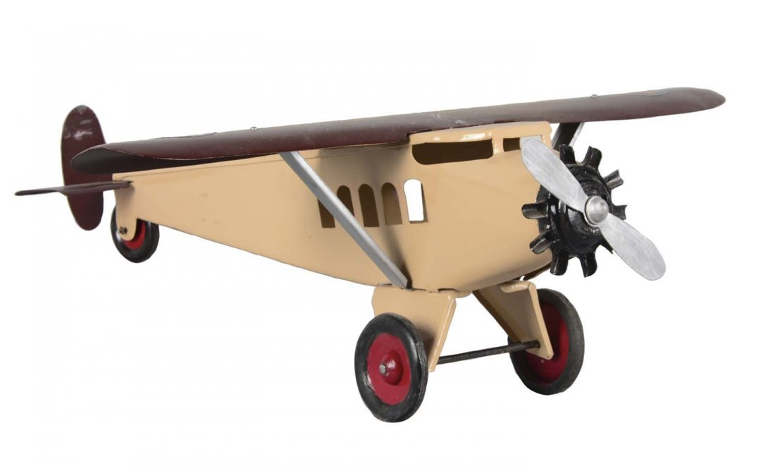 Pressed Steel Turner Toys Airplane