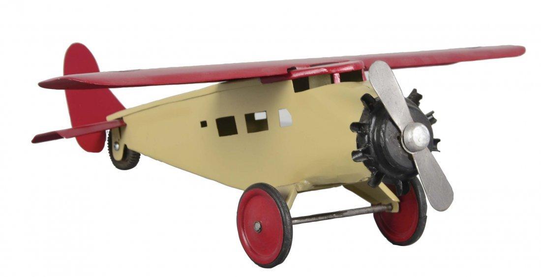 Pressed Steel Turner Toy Single Motor Airplane