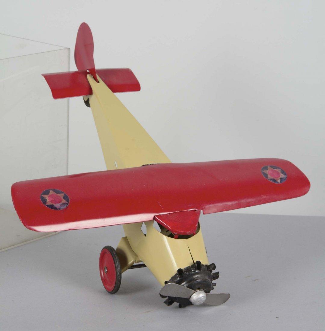 Pressed Steel Turner Toy Single Motor Airplane - 2