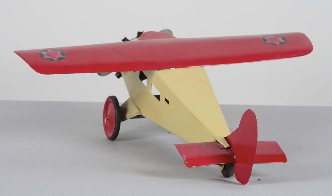 Pressed Steel Turner Toy Single Motor Airplane - 3