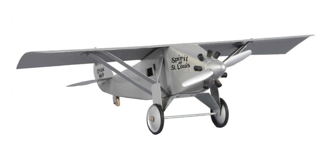 Pressed Steel Spirit Of St. Louis Airplane