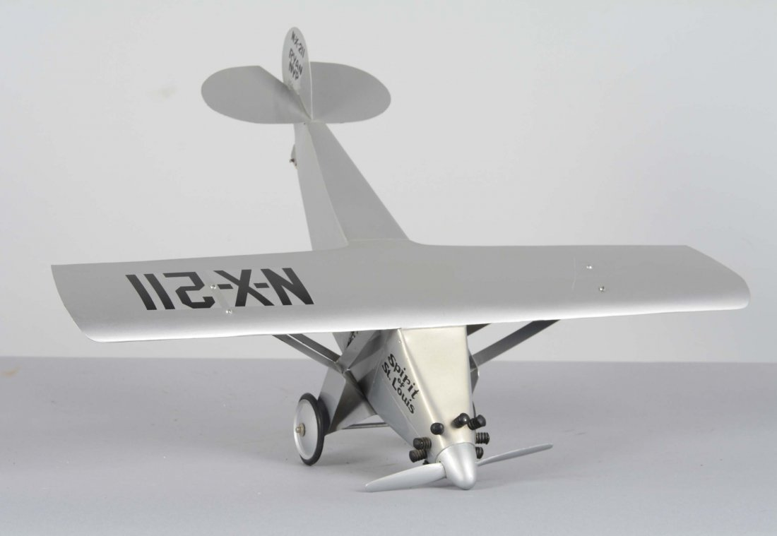 Pressed Steel Spirit Of St. Louis Airplane - 2