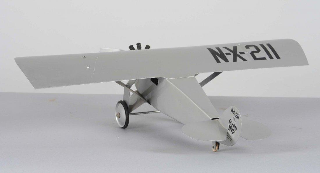 Pressed Steel Spirit Of St. Louis Airplane - 3