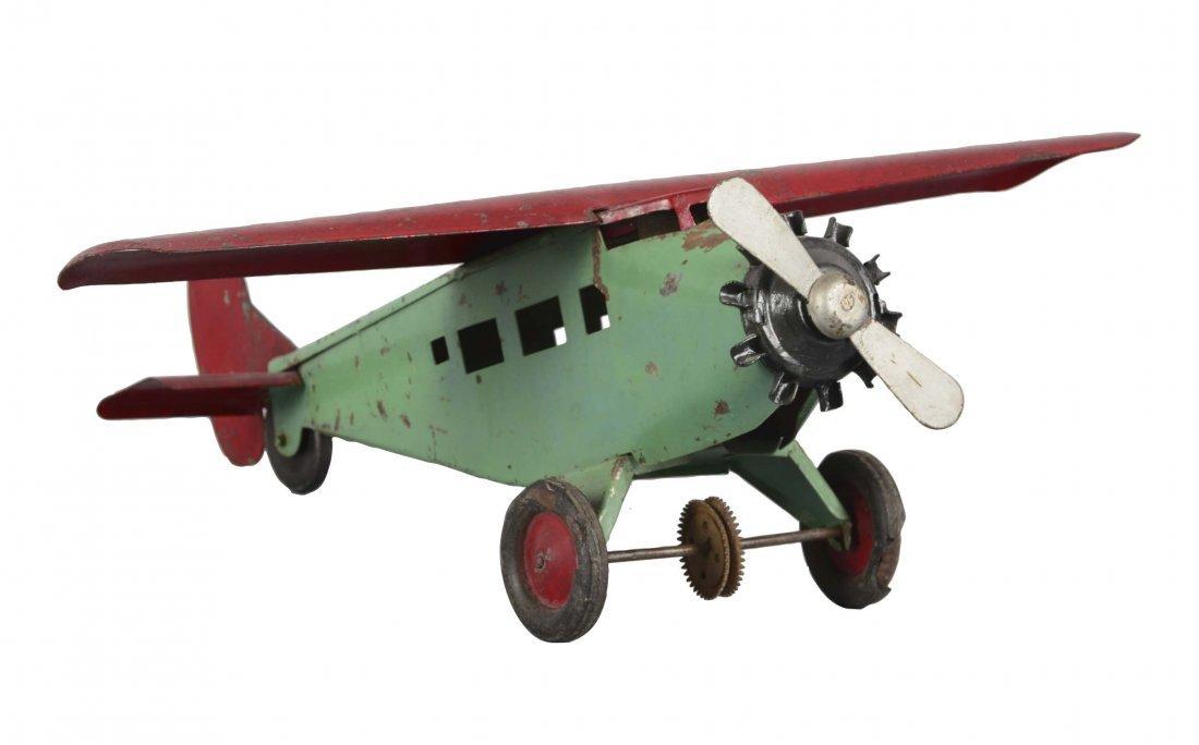 Turner Toy Pressed Steel Airplane
