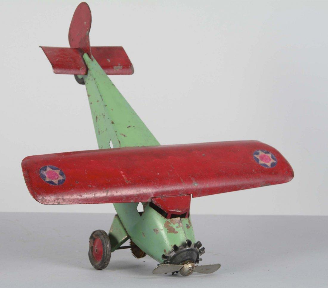 Turner Toy Pressed Steel Airplane - 2