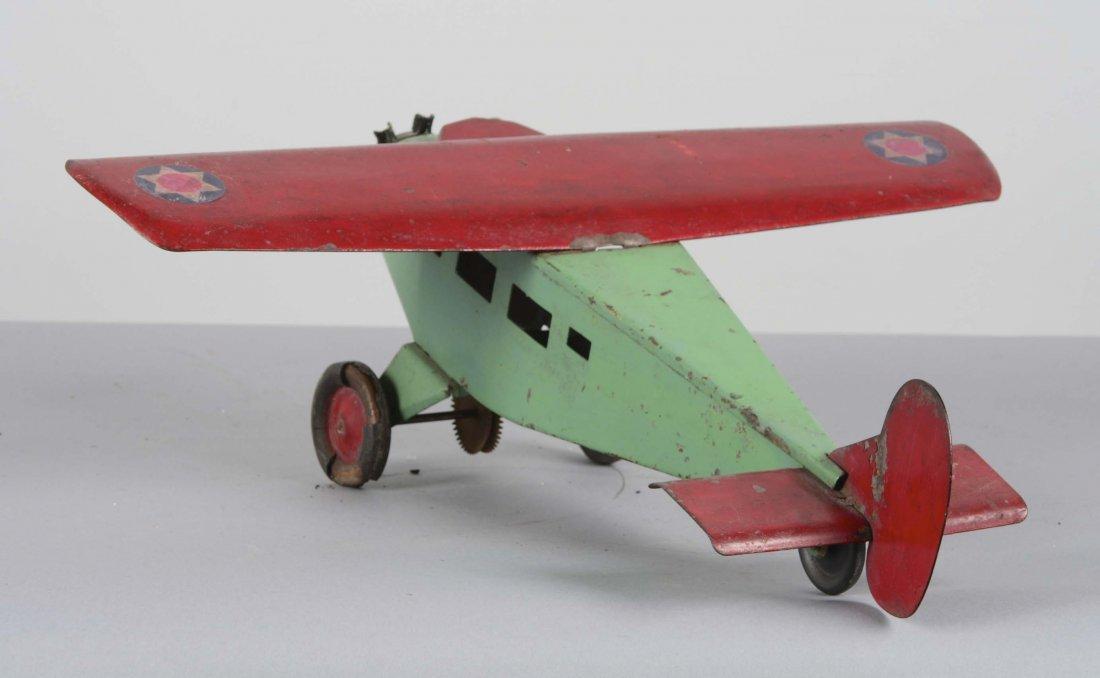 Turner Toy Pressed Steel Airplane - 3