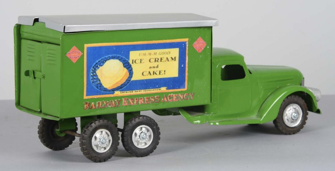 Pressed Steel Buddy L Ice Cream Truck - 2